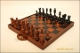 Wooden Chess Suitcase 8""